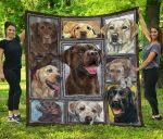 Labrador Retriever Blanket TH1609 Quilt