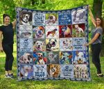 American Bulldog Blanket TH1609 Quilt