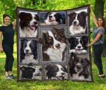 Border Collie Blanket TH1609 Quilt