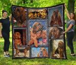 Bloodhound Blanket TH1609 Quilt