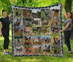 Australian Cattle Dog Blanket TH1609 Quilt