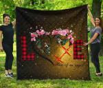 Butterfly Premium Love Blanket TH0509 Quilt
