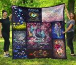 Butterfly Premium Angels Blanket TH0509 Quilt