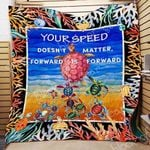 Turtle Your Speed Doesn T Matter Blanket TH0409 Quilt