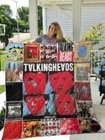 Talking Heads Blanket TH1809 Quilt