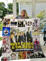 Huey Lewis The News Blanket TH1809 Quilt