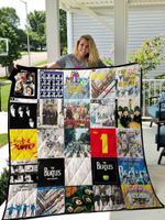 The Beatles Blanket TH1709 Quilt