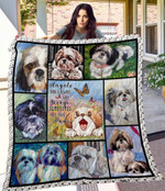 MHQD00033 Corgi Blanket TH1709 Quilt