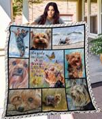 MHQD00031 Yorkshire Terrier Blanket TH1709 Quilt