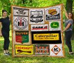 CUSTOM97 TRACTORS Blanket TH1709 Quilt
