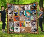 CHQDA26005 Chihuahua Dog Blanket TH1609 Quilt