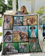 MHQD00041 German Shorthaired Pointer Blanket TH1709 Quilt