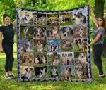 CHQD26003 Australian Shepherd Blanket TH1609 Quilt