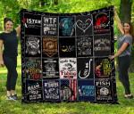 CHQ081301 Fish Blanket TH1609 Quilt