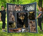 Wolf Premium Blanket TH0509 Quilt