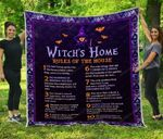 Witchs Home Blanket TH0509 Quilt