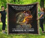 I Am Child Of God I Am A Storm Premium Blanket TH0509 Quilt