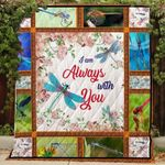 Dragonfly I Am Always With You Blanket TH0509 Quilt