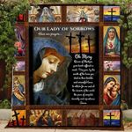 Mother Mary Blanket TH0509 Quilt
