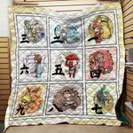 Naruto Chibi Tailed Beast Blanket TH0509 Quilt