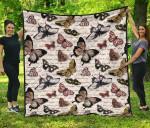 Butterfly Premium PP076 Blanket TH0509 Quilt
