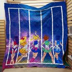 Sailor Moon Scout Stars Back Blanket TH0509 Quilt
