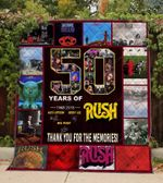 50 Years Of Rush Blanket TH0309 Quilt