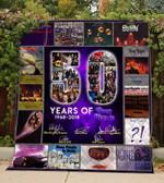 50 Years Of Deep Purple Blanket TH0309 Quilt