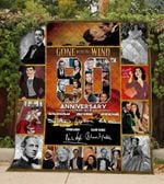 80 Years Of Gone With The Wind Blanket TH0309 Quilt