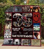 35 Years Of Bon Jovi Blanket TH0309 Quilt