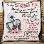 Meeting You Was Fate Nh Blanket Quilt