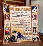 Naruto My Only Love Blanlet Quilt