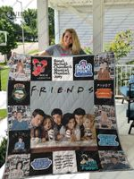 TV Show FRIENDS Hight Quality Blanket For Fans Quilt