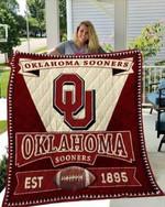 Oklahoma Sooners Blankets Quilt