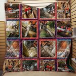 Chainsaw Best Friends Of Logger Blanket TH1707 Quilt