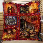 Fire Fighter The Big Hero Blanket TH1707 Quilt