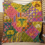 The Color Life Of Nurse Blanket TH1707 Quilt
