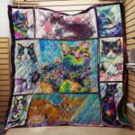 Cat Colors Blanket TH1707 Quilt