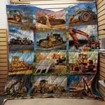 Cool Tool Of Heavy Equipment Operator Blanket TH1707 Quilt