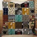 Logger Loves Tree And Chainsaw Blanket TH1707 Quilt
