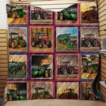 Tractor Best Friends Of Farmer Blanket TH1707 Quilt