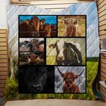 Farmer Cow Style 3D Blanket TH1707 Quilt