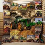 Farmer Tractor Blanket TH1707 Quilt