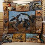 Hunting Duck Blanket TH1707 Quilt