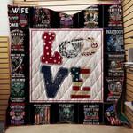 Paratrooper Love Blanket TH1707 Quilt