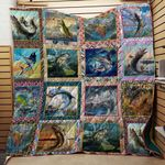 Life Of Fishing Blanket TH1707 Quilt
