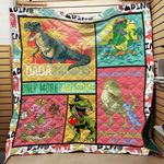 Dadasaurus Only More Awesome Blanket TH1707 Quilt