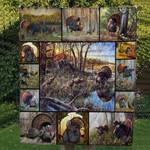 Turkey Animals Blanket TH1707 Quilt