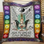 Inhale The Good Yoga Blanket TH1707 Quilt