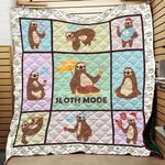 Sloth Mode Blanket TH1707 Quilt